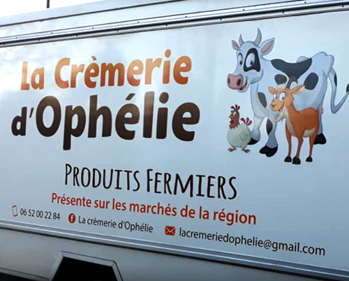 La crèmerie d'Ophélie