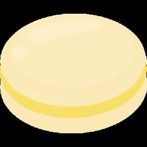 macaron au melon